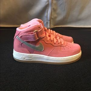 Pink Nike Air Force 1's (Firm Price)